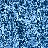 Fabulous Fabrics Futterstoff Schlangenhaut Muster Stretch
