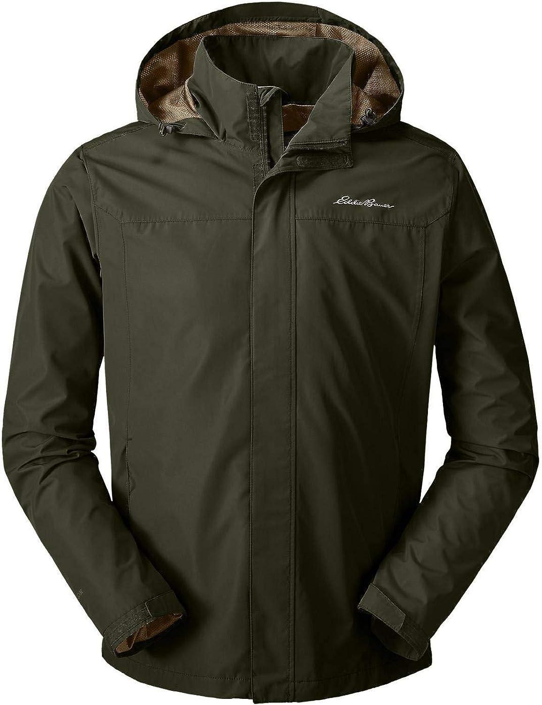 Eddie Bauer Men's Rainfoil Packable Jacket, Dk Loden Regular XXL