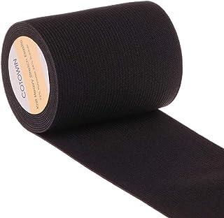 6adcc840eb6d7 7,6 cm Large lourds à tricoter élastique haute élasticité bande élastique 3  m noir