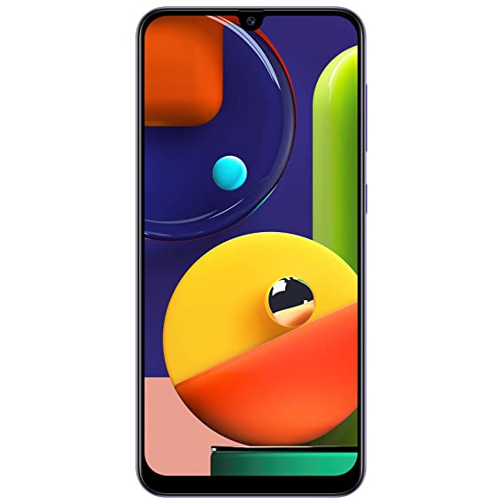 Samsung Galaxy A50s (Prism Crush Violet, 4GB RAM, 128GB Storage)
