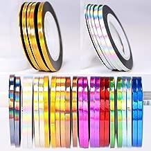 36 pcs 1mm 2mm 3mm Popular Nail Striping Tape Line For Nails Decorations Diy Nail Art Self-Adhesive Decal Tools