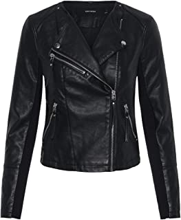 Vero Moda Vmria FAV Short Faux Leather Jacket Noos Chaqueta para Mujer