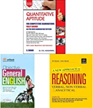 Quantitative Aptitude for Competitive Examinations by R.S. Aggarwal (2019-20 Session)+Objective General English+A New Appr...