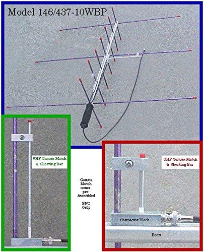 Arrow II Dual-Band Handheld Yagi, 3 Element Beam on 2 Meter, 7 Element Beam on 70 cm 146/437-10BP