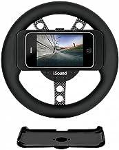 Volante Para Jogos de Corrida Para iPhone 3G, 3Gs e 4, Isound, ISOUND1598, Preto