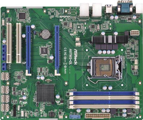 Asrock H87WS-DL Intel H87 LGA 1150 (Buchse H3) ATX Motherboard - Motherboards (DDR3-SDRAM, DIMM, 1333,1600 MHz, Dual, 1.35,1.5 V, 32 GB)