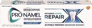 Sensodyne Pronamel Intensive Enamel Repair Toothpaste for Sensitive Teeth, to Reharden and Strengthen Enamel, Clean Mint -...