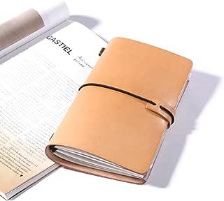 牛革ノートブック-トラベラーズ-システム手帳-レザーカバー-ノート (革の色)