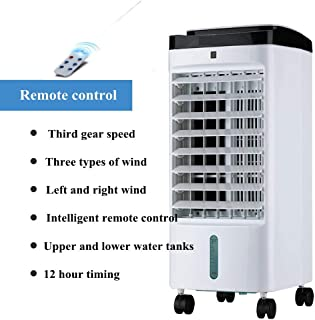 JJKT La Sincronización Solo Frío Aire Acondicionado Portátil, Control Remoto 5l Acondicionador De Aire Móvil Enfriador De Aire para Oficina-b