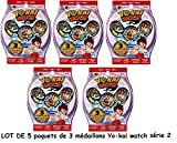 Channeltoys - Yo-kai watch - 5 Blind Bag yokai medals series 2 - 15...