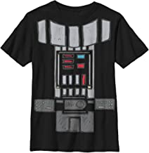 Star Wars Boys' Big Darth Vader Body Costume Graphic Tee