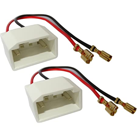 Aerzetix 2 Lautsprecher Adapter Lautsprecher Anschlussstecker Für Auto Audio Hifi