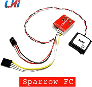 LHI Sparrow FC Flight Controller Stabilizing 6-Axis Gyro with M7 GPS Module for FPV RC Airplane Fixed-Wing