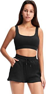 Jetjoy Workout Sets For Women 2 Piece, Casual Outfits Jogging Suits Yoga Running Set Active Tracksuits
