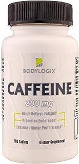 Bodylogix Caffeine 200 mg, 12 Pack 100 tablets, 448 g