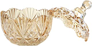 Best yellow glass candy dish Reviews