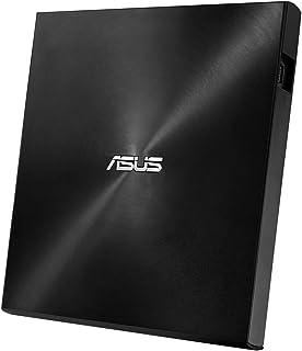 ASUS外付けDVDドライブ バスパワー/ポータブル/Win&Mac/M-DISC2枚付属/USB2.0(USB3.0搭載PCでも利用可)/ブラック SDRW-08U7M-U/BLK/G/AS/P2G