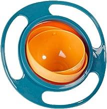 Hotstype Portable 360 Rotation Baby Kids Training Feeding Bowls No Spill Gyro Bowls Utensils