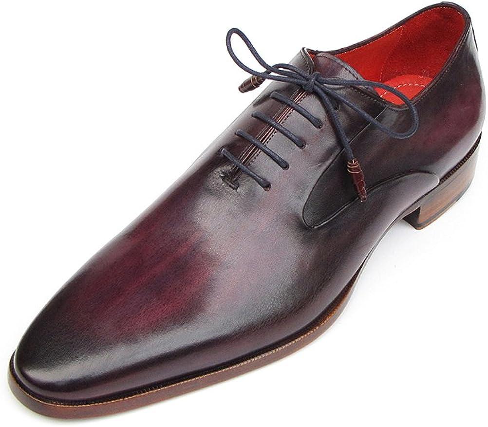 Paul Parkman Mens Plain Toe Oxfords Purple Shoes