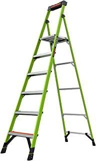 Little Giant Ladder Systems 15365-001 MightyLite 5` IA Step Ladders, 8 Ft, Gray