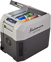 Kalamera Portable Refrigerator Freezer (26 Quart) Car, Camp, Office, Travel Mini Fridge | Electric Drink Cooler for Indoor, Outdoor, Traveling Use | DC and AC Power