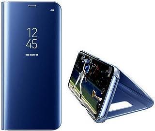 "for Samsung Galaxy S8 ケース、ミラービュースマートフリップケースシェル Galaxy S8 (表示画面 5.8"")"