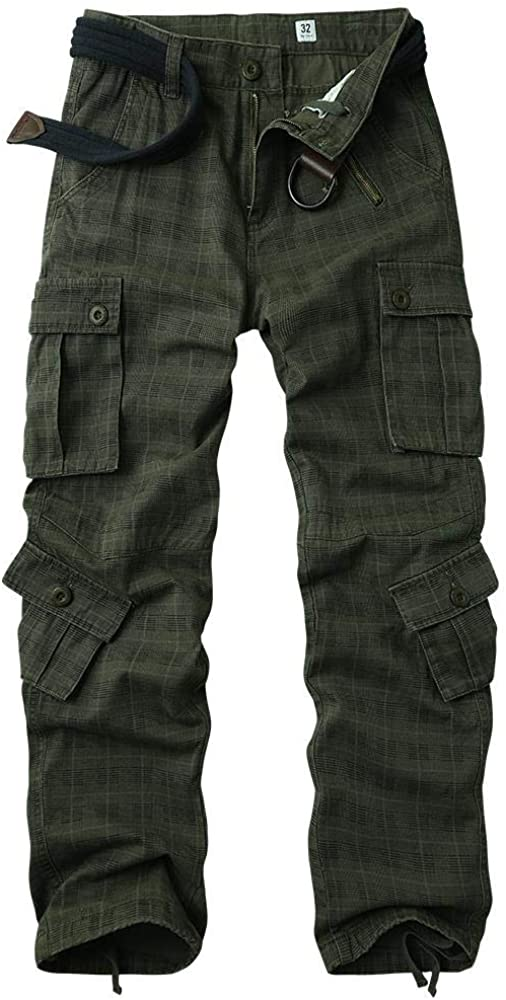 AKARMY Men's Casual Cargo mart Pants Military Brand new Work P Camo Combat Army