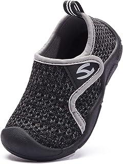 INMINPIN Zapatillas de Estar por Casa para Niños Zapatos de Interior de Punto Infantil Niña Niño Cómodos Suave Antidesliza...