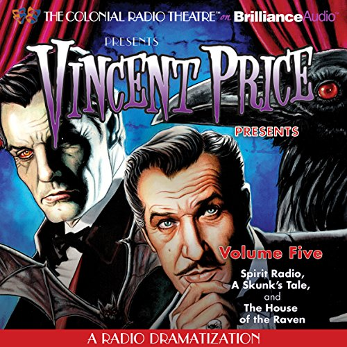 Vincent Price Presents, Volume Five audiobook cover art