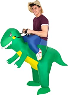 Morph Inflatable Ride-On Dragon Halloween Costume for Adults