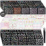 5000+ Pieces Nail Decal Stickers 100 Sheets...