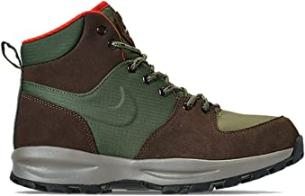 Nike Mens Air Manoa Boots Army Olive/Baroque Brown BQ3380-300 Size 9