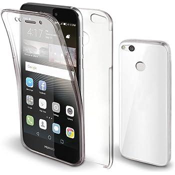 Moozy Funda 360 Grados para Huawei P8 Lite 2017 Transparente ...