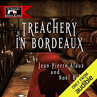 Treachery in Bordeaux (Mission à Haut-Brion) cover art