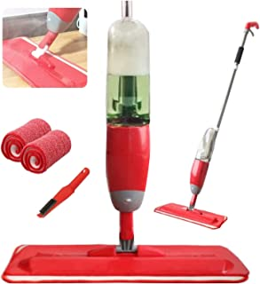 Balai serpillère avec pulvérisateur pour nettoyage de sols de parquet, tarima, carrelage, vinyle, bois ou céramiques avec ...
