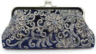 The Evening Bags Women Clutch Bags embroidering Wedding Bridal evening clutch handbag