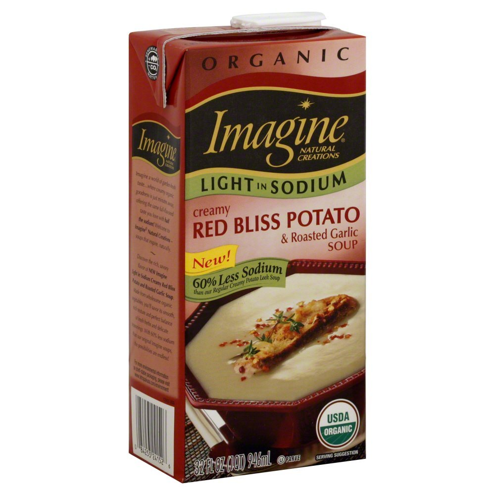 Creamy Oakland Mall Red Bliss and Roasted Garlic 32 Soup Light in Sodium Ounc Max 43% OFF