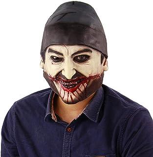 ZJMIYJ Halloween mask, helmask för halloween kostym karneval cosplay julfest rollleksak