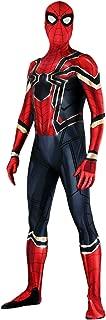 Heroscostume Iron Spider Classical Design Spandex Lycra Fullbody Zentai Halloween Cosplay Costume for Male and Kids