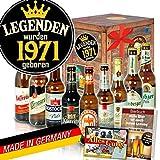Legenden 1971 ++ DDR Bier Geschenk ++ Geschenke Ideen für Sie