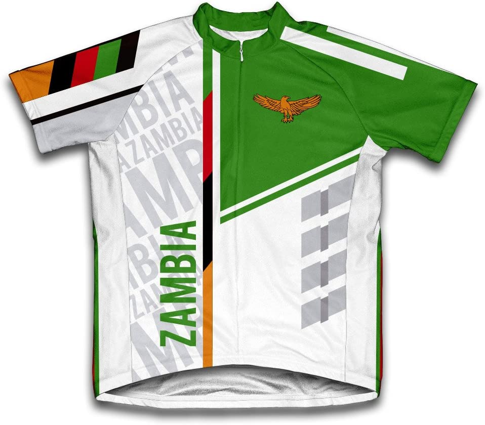 ScudoPro Zambia Short Sleeve Jersey Men Max 87% OFF Cycling for New Orleans Mall