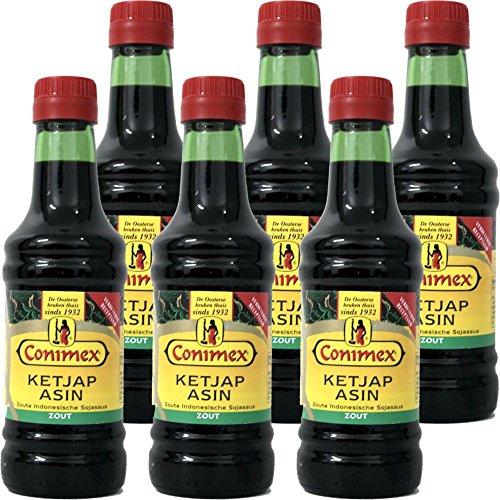 Conimex Ketjap Asin 6 x 250ml Flasche