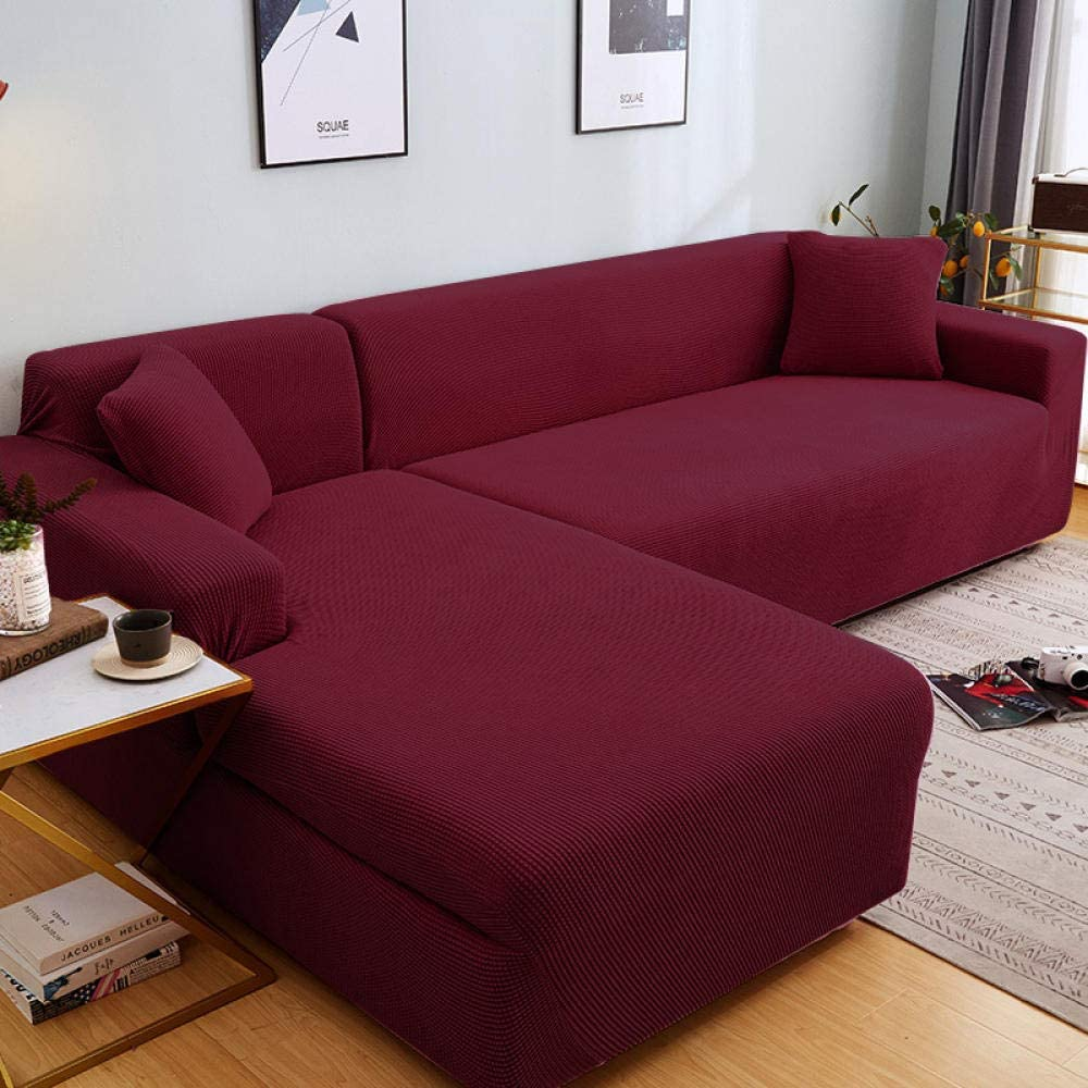 Fsogasilttlv Be super welcome Stretch Sofa low-pricing Slipcover for Solid Seater 4 Kids Pets