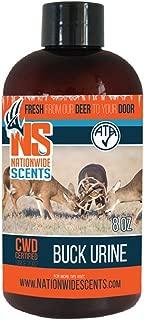 Nationwide Scent Buck Urine Deer Attractant Scent Lure Whitetail Pheromones Attracts Bucks to Active Scrape (8 oz)