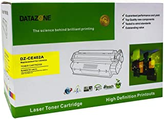 Datazone YELLOW laser Toner Compatible for printers M575dn-MFP M575f-M551dn-M551n-M551xh- MFP M575c-MFP M570dn CE402A (507A)