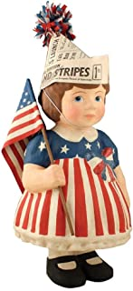 Bethany Lowe USA Large Betsy Patriotic Americana Figure, 16.5