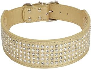 BTDCFY Rhinestones Dog Collars-2