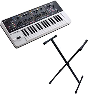 Roland Gaia SH-01 Keyboard with Gator Cases Rok-it X-Style Keyboard Stand