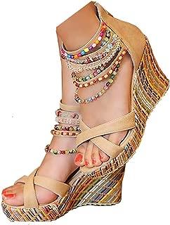 Best womens beaded sandals Reviews
