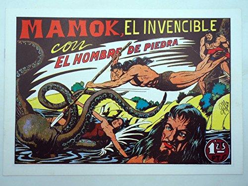 PURK EL HOMBRE DE PIEDRA 5. Mamok El Invencible. FACSIMIL